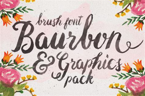 paint fonts 10 modern brush lettered fonts you ll