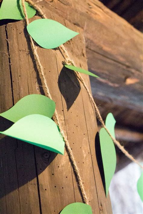 How To Make Jungle Vines Out Of Paper - 17 best ideas about woodland on forest