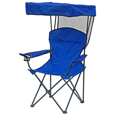 Umbrella Chairs by Direct Import Folding Chair W Canopy Arm Rests And Carry