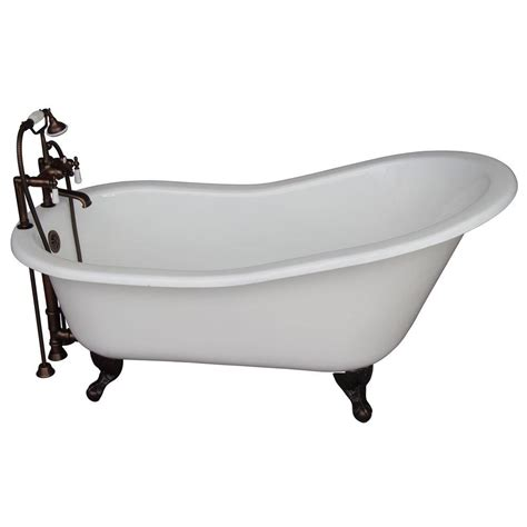 Cast Iron Bathtubs Home Depot by Barclay Products 5 Ft Cast Iron And Claw