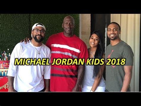 michael jordan biography when he was a kid michael jordan kids 2018 sons daughters and wife star