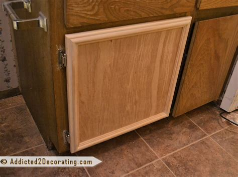 kitchen cabinet door moulding bathroom makeover day 3 how to make cabinet doors