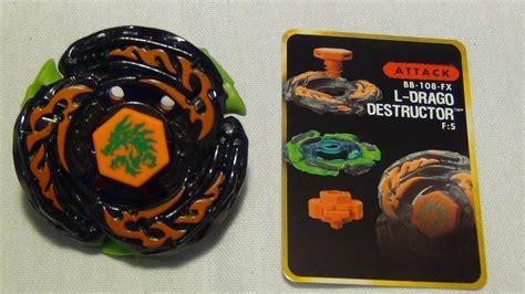 Beyblade Hyperblades L-DRAGO DESTRUCTOR F:S ~unboxing ... L Drago Destructor