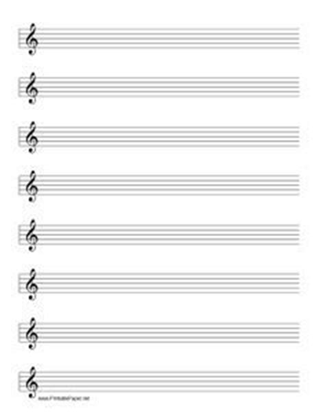 sheet music clipart grand staff pdf pencil and in color sheet blank