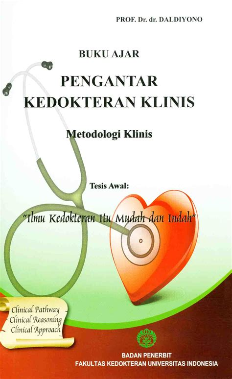 Buku Ajar Penyakit Tht Original buku ajar pengantar kedokteran klinis
