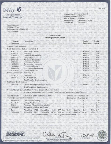 Nyu Mba Official Transcripts by Transcript Bachelor