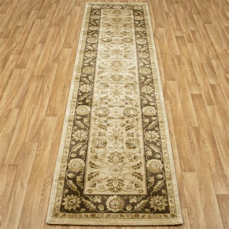what size is a runner rug ziegler frisee washed rug runners brown 2 sizes