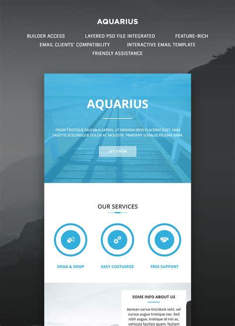 aquarius email template buy premium aquarius email