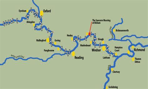 Thames River Route | our mooring calmer cruising