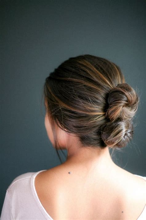 hairstyles simple buns 7 easy bun hairstyles for busy days hair