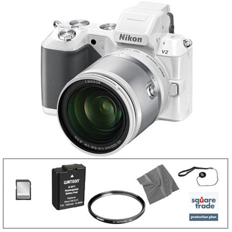 Kamera Mirrorless Nikon V2 nikon 1 v2 mirrorless digital deluxe accessory kit b h