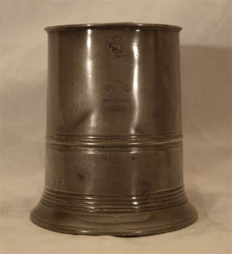 antique english pewter tobacco boxes tankards and measures antique pewter