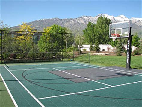 backyard sports academy handball sport court