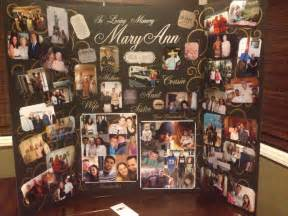 photo board ideas memory board made for great gramma s funeral service