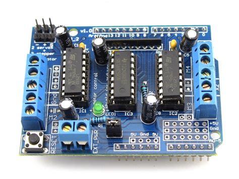 channels ld motor shield  arduino makerfabs