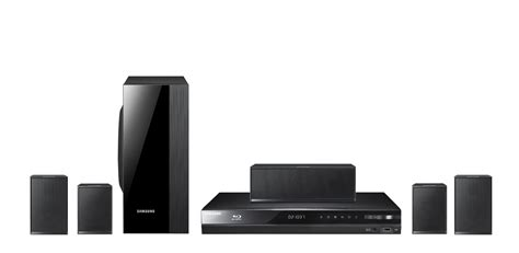 Samsung Home Theater With Small Speakers Samsung Htd4600 5 1 Ch 3d Home Theatre System