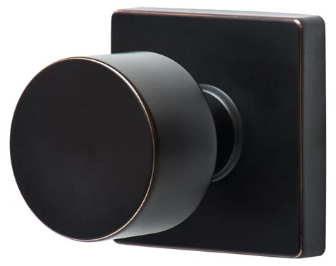 Modern Door Knobs by Sure Loc Door Hardware Bergen Modern Knob With