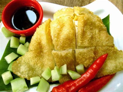 resep pempek dos  ikan sambal petis resep masakan