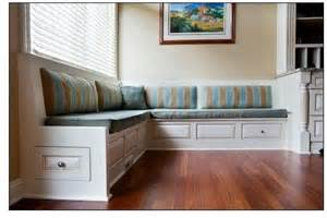 built in banquette design house