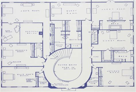 beverly hillbillies mansion floor plan beverly hillbillies mansion floor plan meze blog