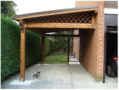 tettoia amovibile realizzazione di una tettoia in legno nuova costruzione o