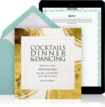 Online invitation exampe page   EventKingdom
