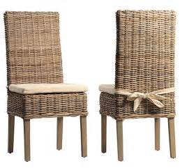 Wicker Dining Chair Cushions Kubu Grey Rattan Dining Chair