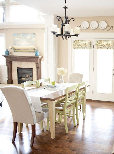 mismatched dining room chairs home