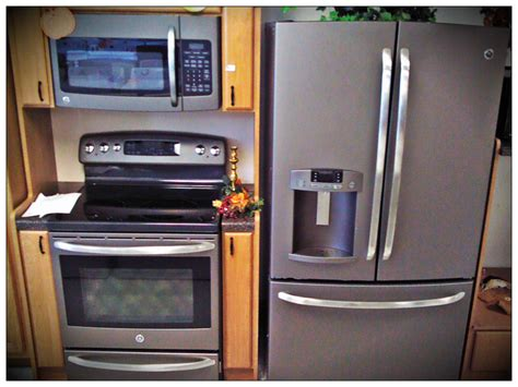 klenk s appliance ge appliance s new slate color is sweet