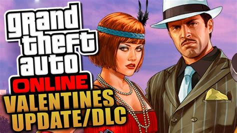 gta v valentines dlc grand theft auto be my update is now live