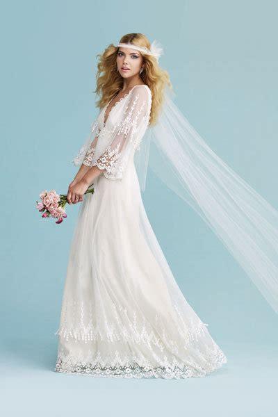 Brautkleider 70er Stil by Trend We Vintage Inspired Dresses Bridalguide