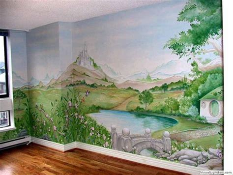 best painted murals in kid rooms geeksraisinggeeks
