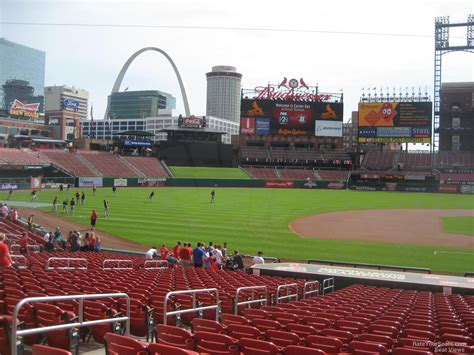 Busch Stadium Section 157 Rateyourseats Com