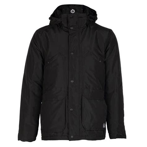 Parka Bb Black Turkish Bb Mens Jones Hale Black Hooded Padded Parka Jacket