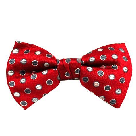 Polka Dot Bow Tie wine grey beige polka dot silk bow tie from ties