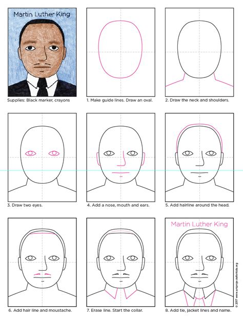 Make Christmas Cards With Kids - how to draw martin luther king art projects for kids
