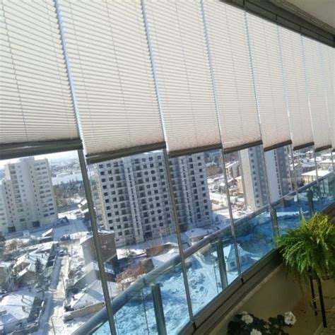 plise perde cam balkon perdesi karartma serisi