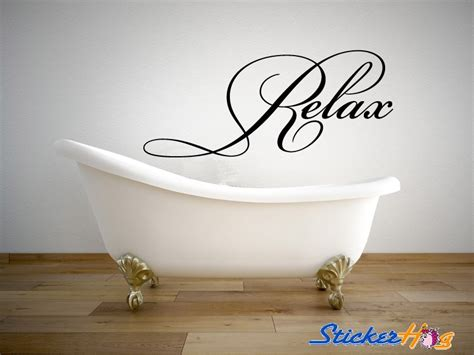 Property Details For Quot 2 Bd 2 Bath The Exchange At Brier | relax bathroom quote vinyl wall decal 2 graphics home decor