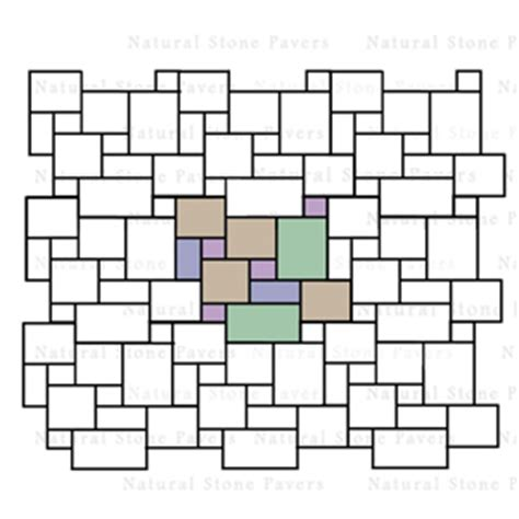 Patio Patterns 4 Sizes by Paver Pattern Calculator Plus A Ton Of Different Layouts