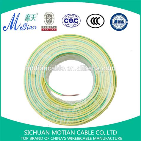electric copper wire prices factory price electric wire 6mm2 copper wire pvc insulated