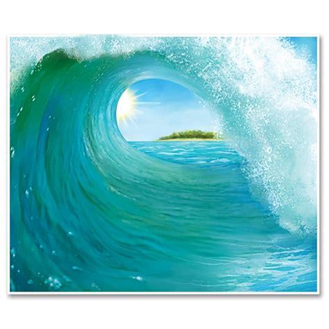 surf wall murals surf wave insta theme mural