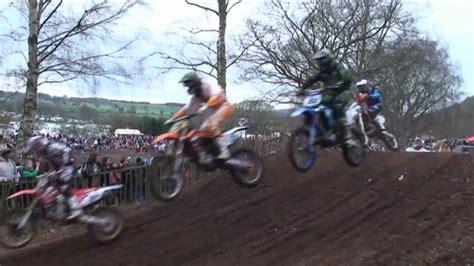 youtube motocross racing action 2011 pro motocross mx 1 race action hawkstone