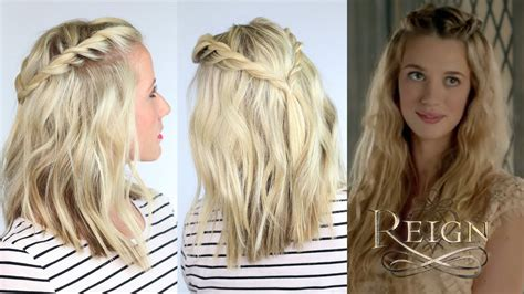 reign hairstyes twisted hairstyle inspired by reign youtube