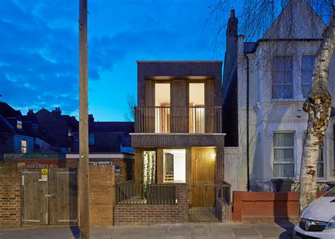 brick tiny house a tiny house in haringey by satish jassal architects