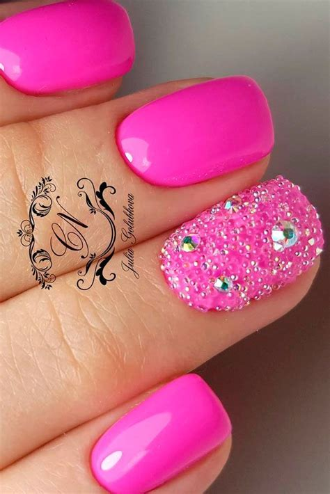 over 50 nails daily charm over 50 designs for perfect pink nails pink