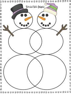 snowman venn diagram printable 1000 images about first grade reading stuff on pinterest