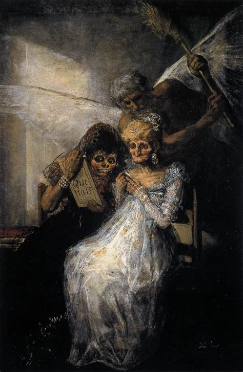 biography of goya artist les vieilles or time and the old women by goya y lucientes