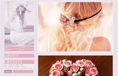 best tumblr themes girly 15 nice girly tumblr themes utemplates