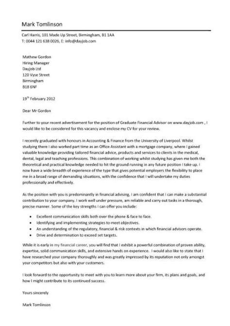 convincing covering letter cv