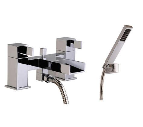waterfall bath taps with shower mayfair waterfall bath shower mixer tap with shower